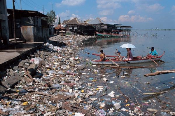 Coastal pollution