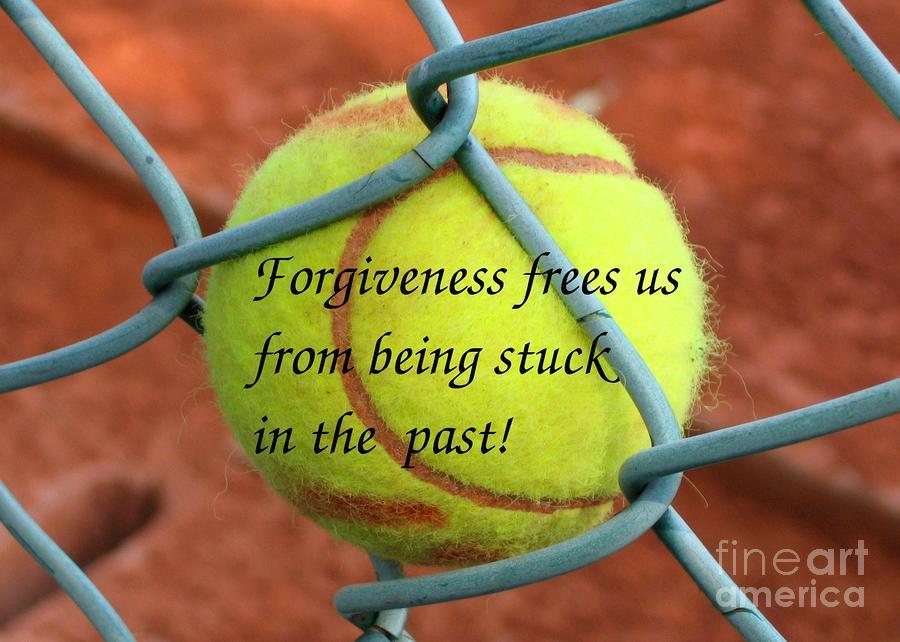 Forgiveness does not change  Forgiveness