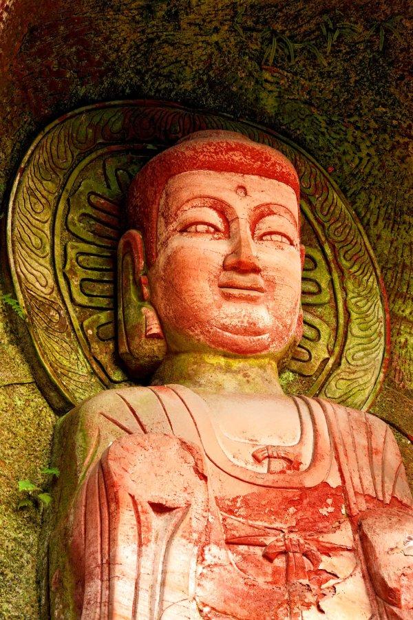 leshan buddhas