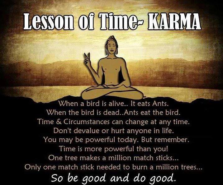 I Found This Image Really Fascinating And It Got Me Thinking About Karma Again We Often Forget The Old Saying What Goes Around Comes Or