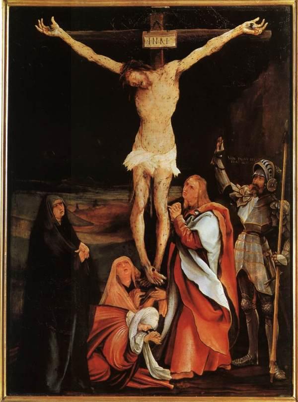 Matthias_Grünewald_-_The_Crucifixion_-_WGA10710