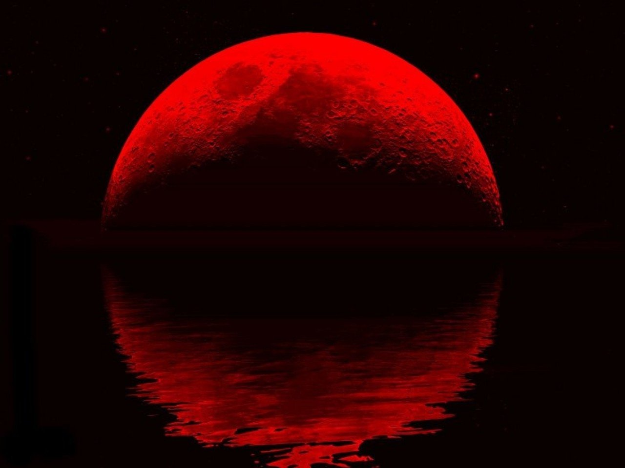 red moons - photo #1