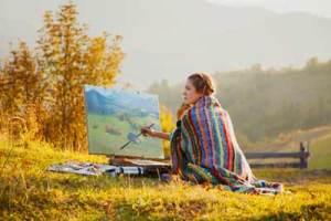 Lady-artist